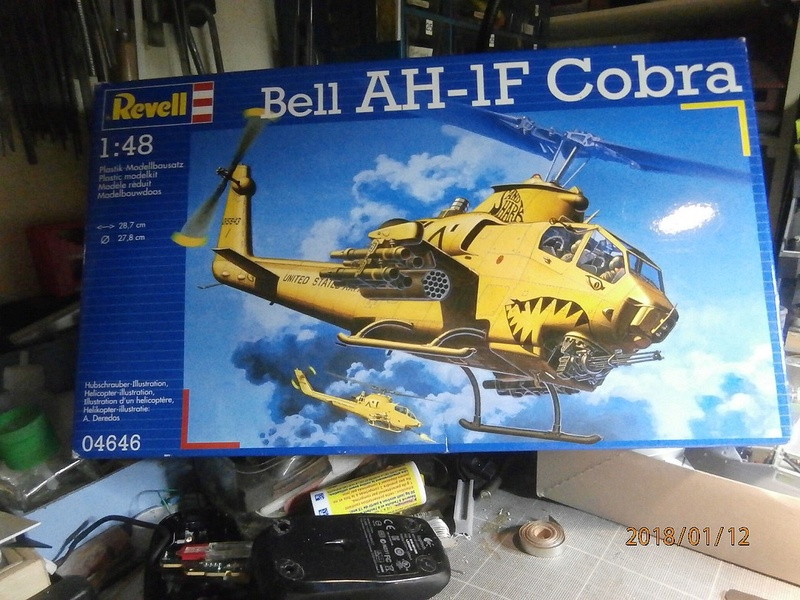 Cobra AH-1F Revell 1/48 P1120013