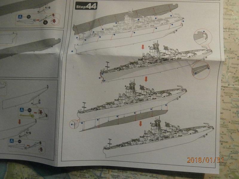 USS Missouri kit métal au 1/800 P1310024