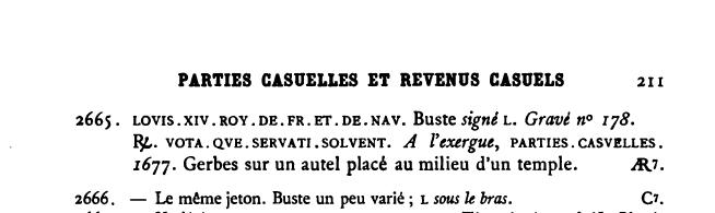 """Jeton Louis XIV États de Bretagne """"VOTAQVE SERVATI SOLVENT"""" ... Clipbo27"""