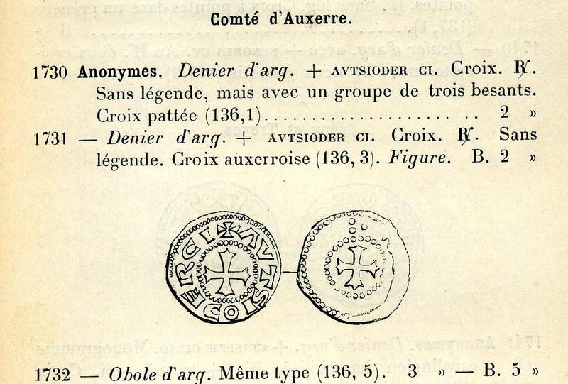 Denier anonyme du comté d'Auxerre (ou obole) ... Scan3411
