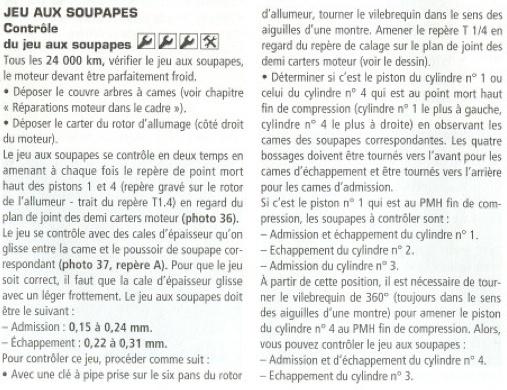 Z 750 - jeu aux soupapes Consig10
