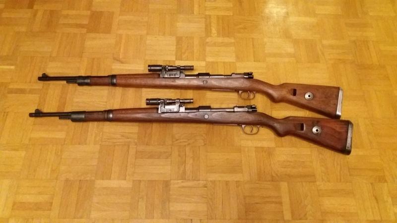 Mauser K98k + rail ZF41 20180412
