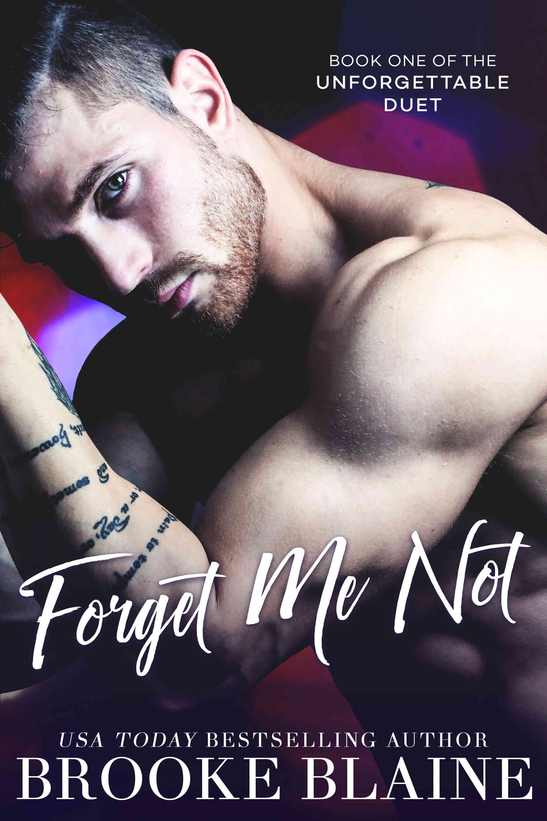 The unforgettable duet - Tome 1 : Forget me not de Brooke Blaine Fmn-eb10