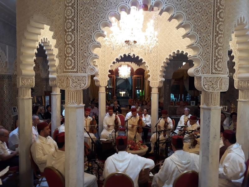 [Maroc/Histoire, Accueil...] Soirée de musique arabo-andalouse 20171016