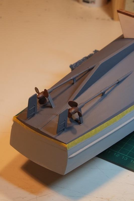 Chasseur de sous-marins CH123 au 1/50 selon plans AAMM Dscf4119