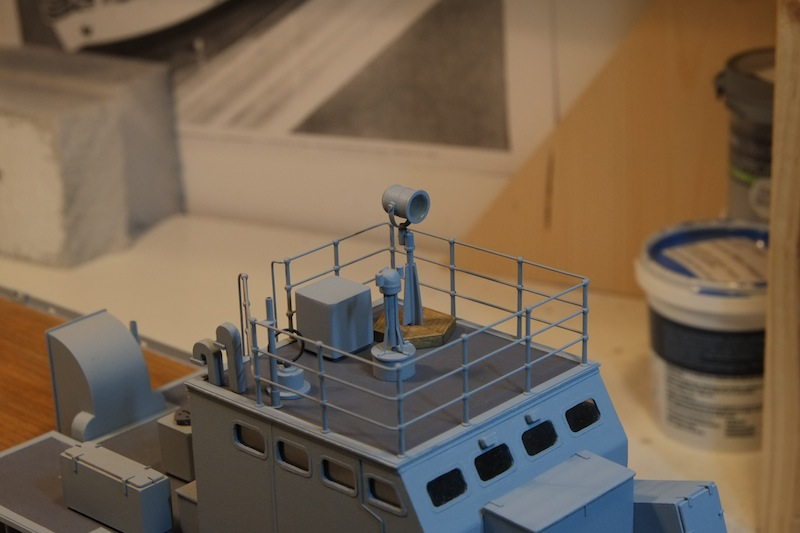 Chasseur de sous-marins CH123 au 1/50 selon plans AAMM - Page 4 Dscf4253