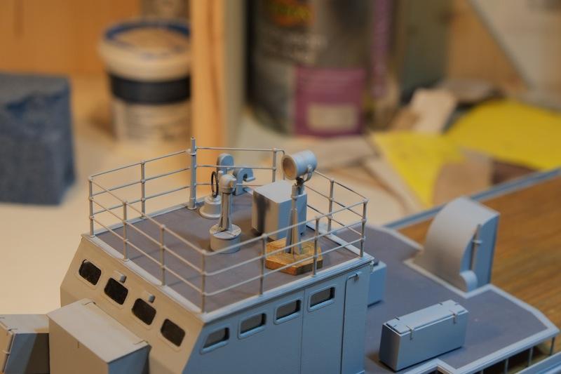 Chasseur de sous-marins CH123 au 1/50 selon plans AAMM - Page 4 Dscf4256