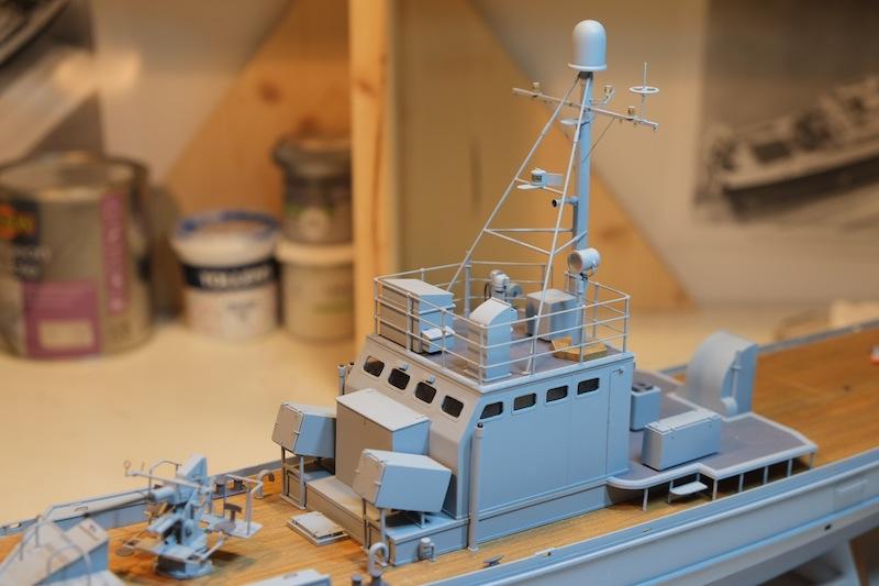 Chasseur de sous-marins CH123 au 1/50 selon plans AAMM - Page 4 Dscf4262