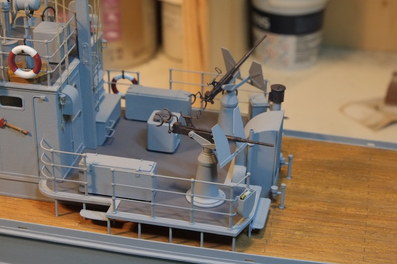 Chasseur de sous-marins CH123 au 1/50 selon plans AAMM - Page 6 Dscf4310