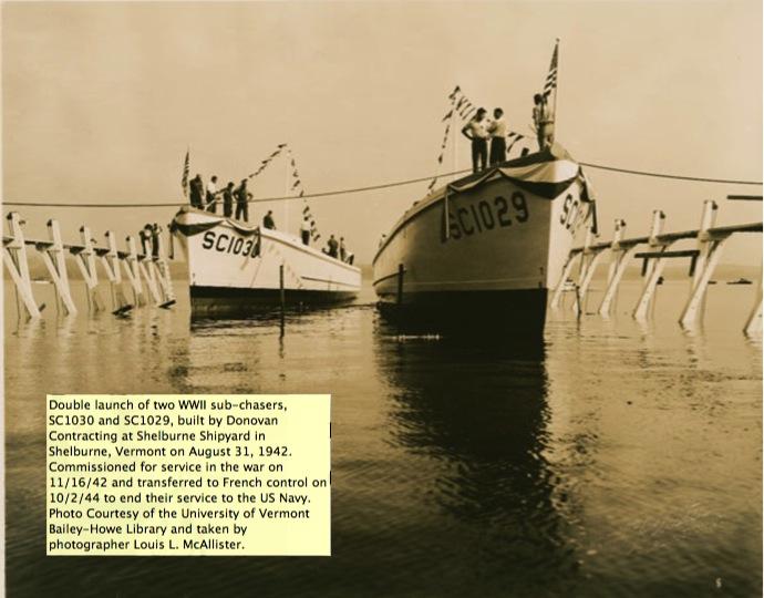Chasseur de sous-marins CH123 au 1/50 selon plans AAMM Sc102910
