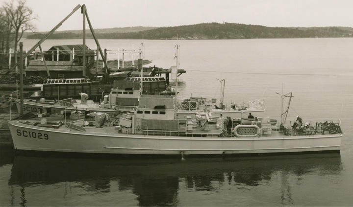 Chasseur de sous-marins CH123 au 1/50 selon plans AAMM - Page 5 Sc102911