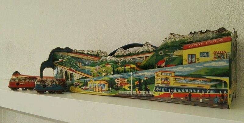 Technofix Alpine Station rarissimo anni 50 60 S-l16014