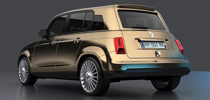 Renault ...en projet une nouvelle 4L ? 0748a410