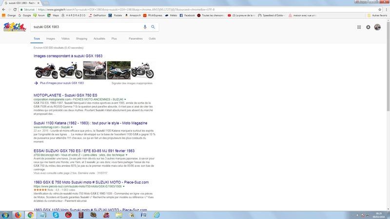 """réinstaller """"Voir image"""" sur google chrome  Suz10"""