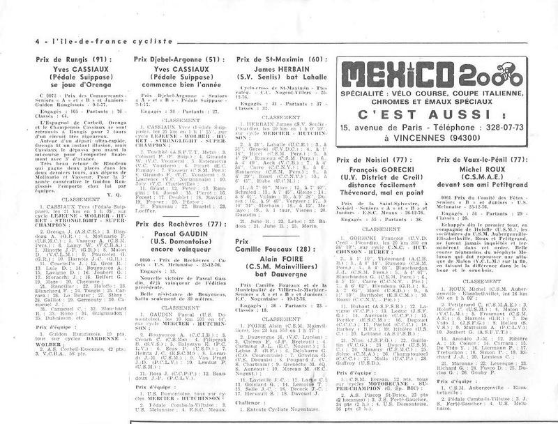 Coureurs et Clubs de juin 1974 à mars 1977 - Page 42 001159