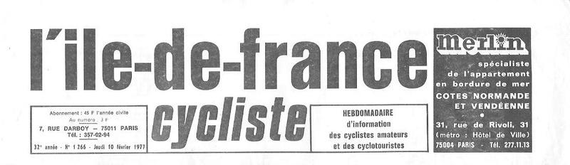 Coureurs et Clubs de juin 1974 à mars 1977 - Page 42 001166