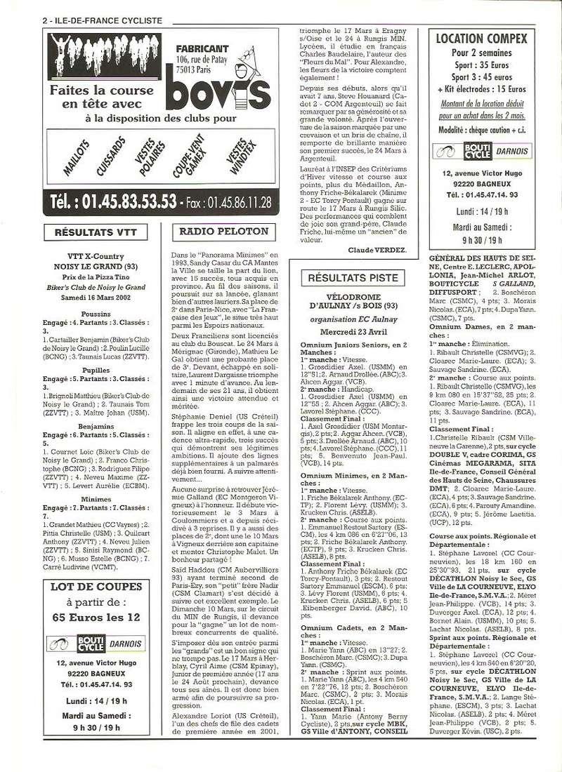 Coureurs et Clubs de janvier 2000 à juillet 2004 - Page 21 00213