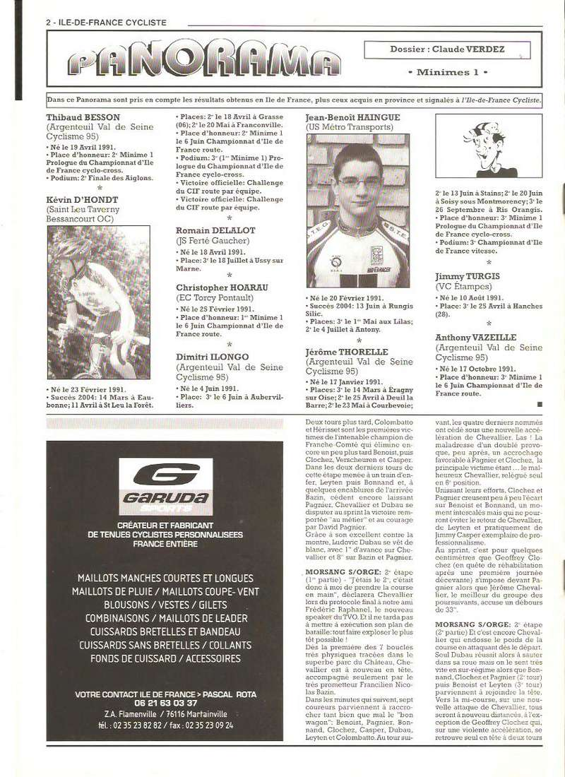 Coureurs et Clubs de septembre 2004 à fevrier 2008 - Page 2 00274