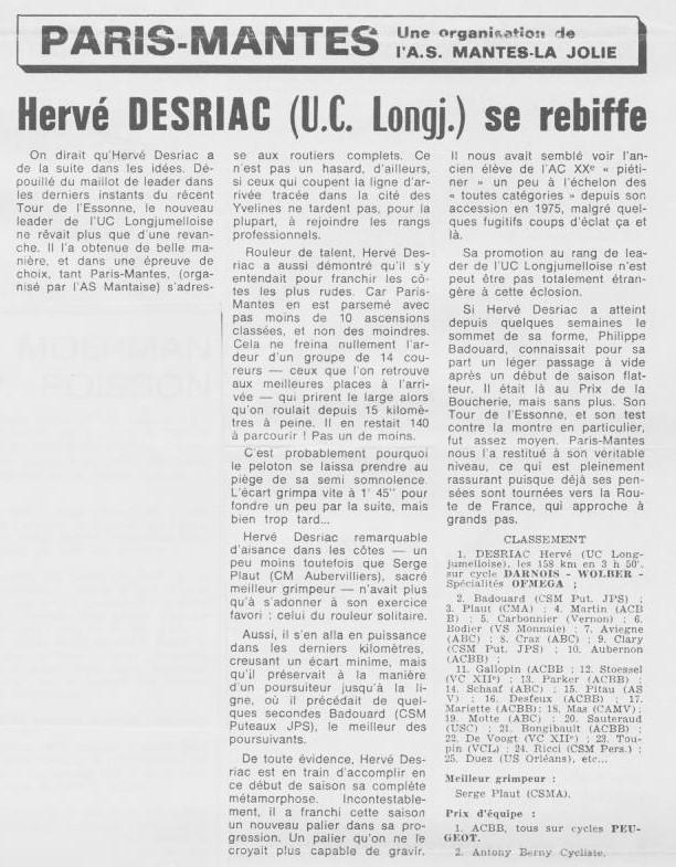 Coureurs et Clubs d'avril 1977 à mai 1979 - Page 38 003214