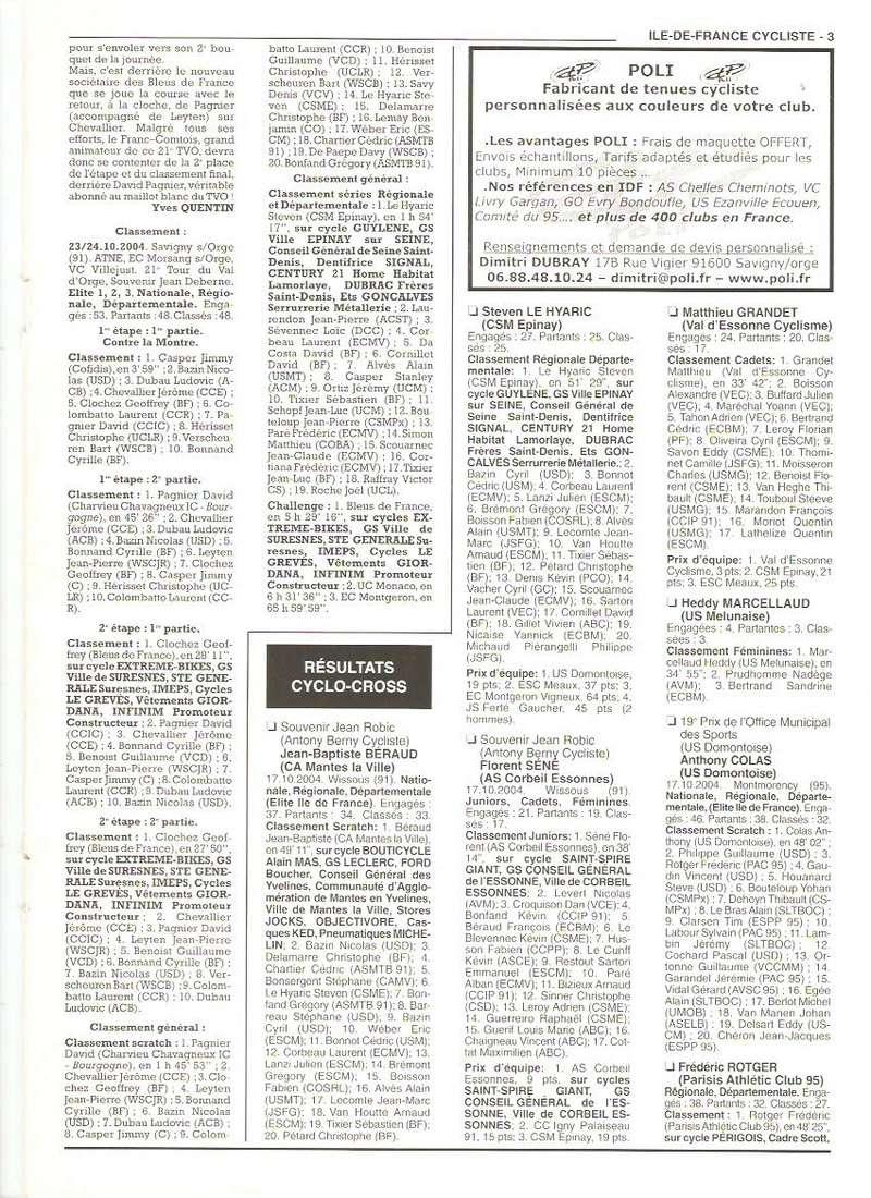 Coureurs et Clubs de septembre 2004 à fevrier 2008 - Page 2 00370