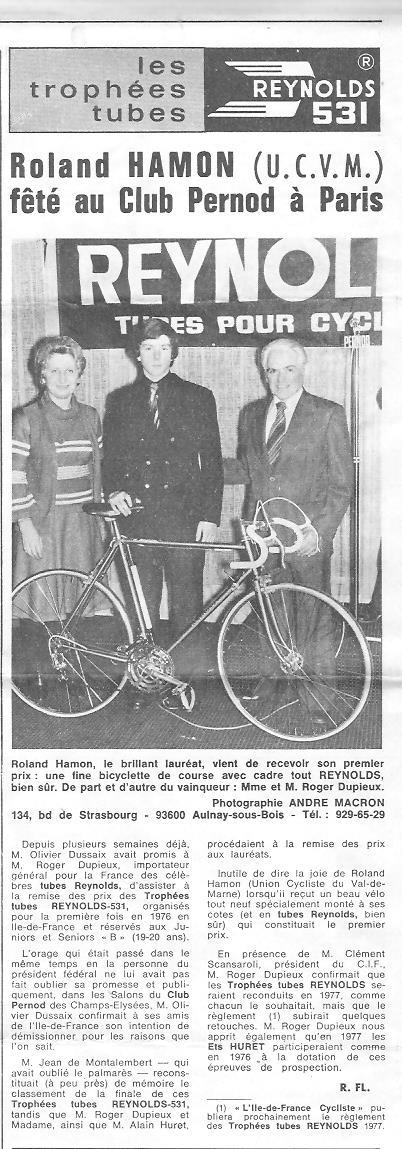 Coureurs et Clubs de juin 1974 à mars 1977 - Page 42 004149