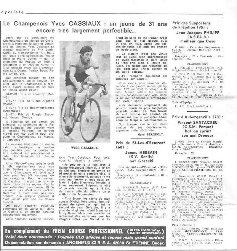 Coureurs et Clubs de juin 1974 à mars 1977 - Page 42 004157