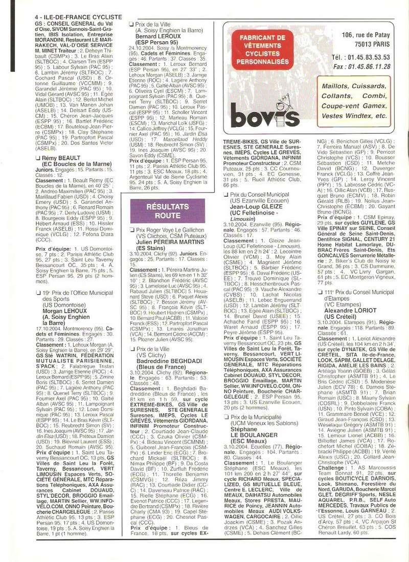 Coureurs et Clubs de septembre 2004 à fevrier 2008 - Page 2 00476