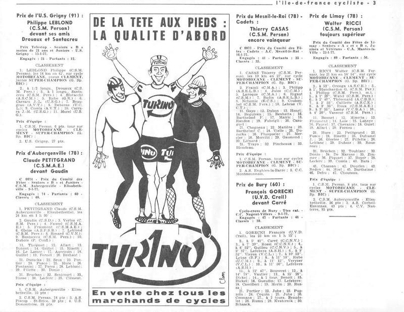 Coureurs et Clubs de juin 1974 à mars 1977 - Page 42 005154