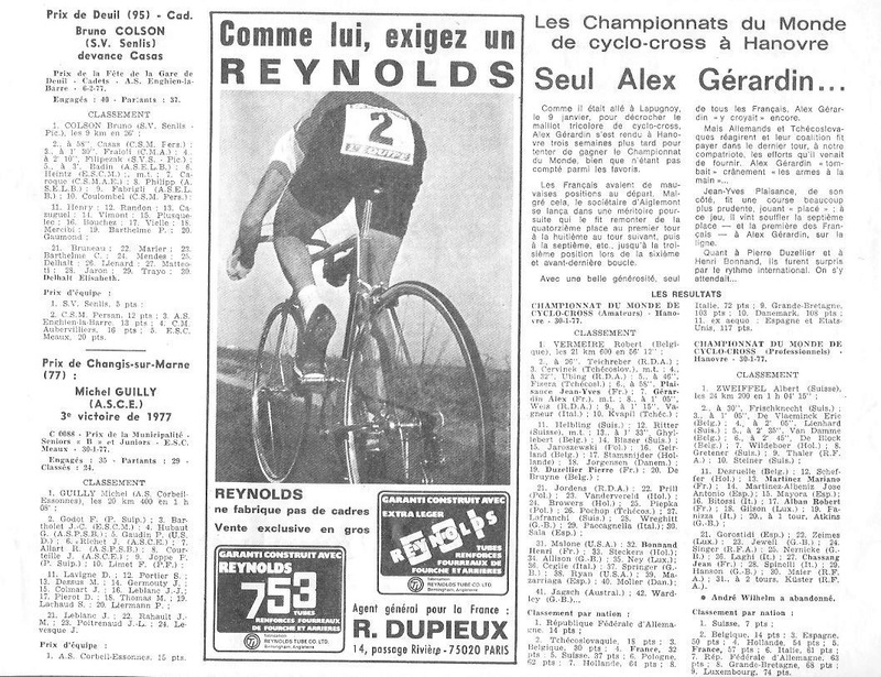 Coureurs et Clubs de juin 1974 à mars 1977 - Page 42 005155