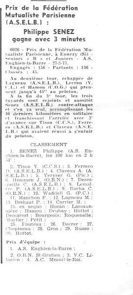 Coureurs et Clubs d'avril 1977 à mai 1979 005157