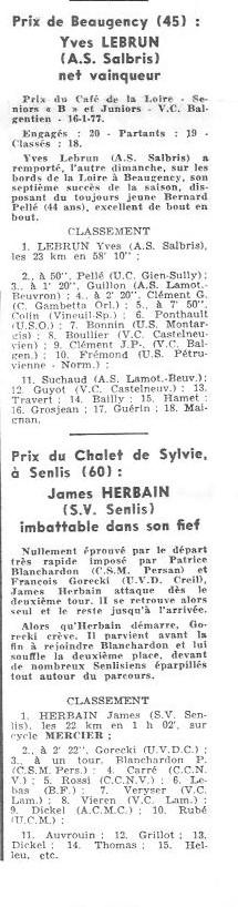 Coureurs et Clubs de juin 1974 à mars 1977 - Page 42 006151