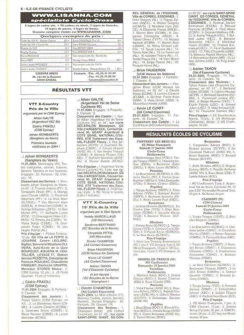 Coureurs et Clubs de janvier 2000 à juillet 2004 - Page 39 00658