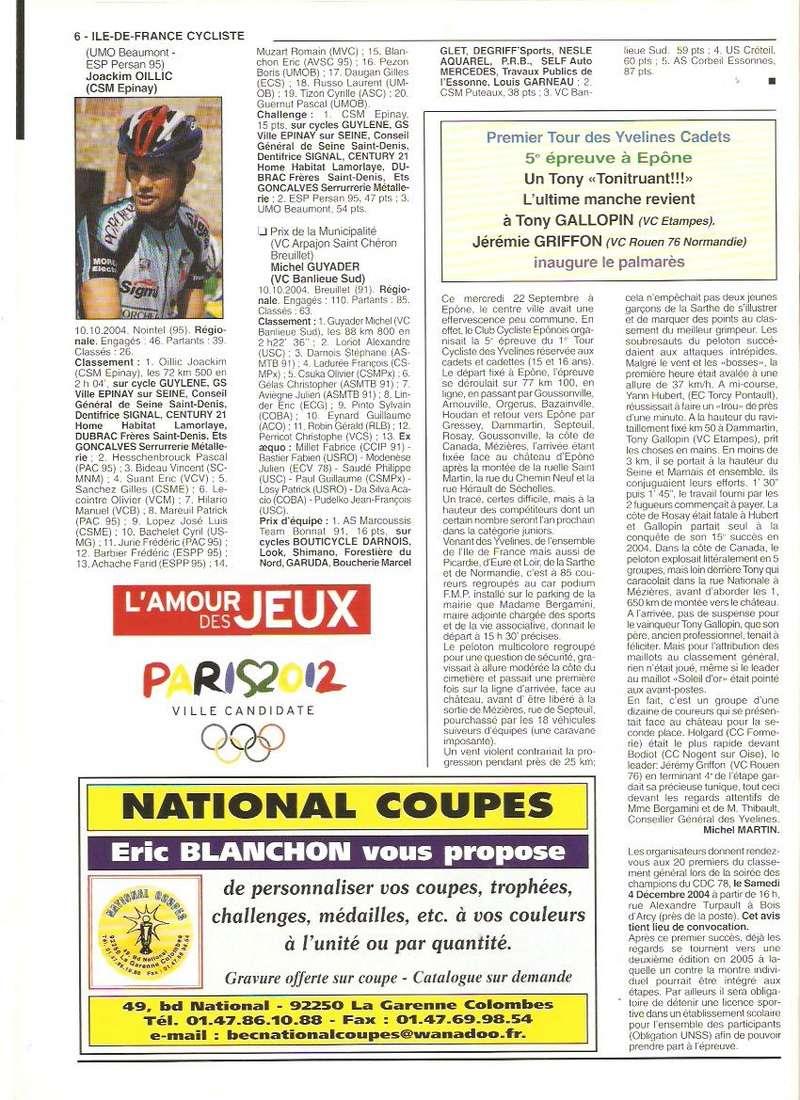 Coureurs et Clubs de septembre 2004 à fevrier 2008 - Page 2 00669