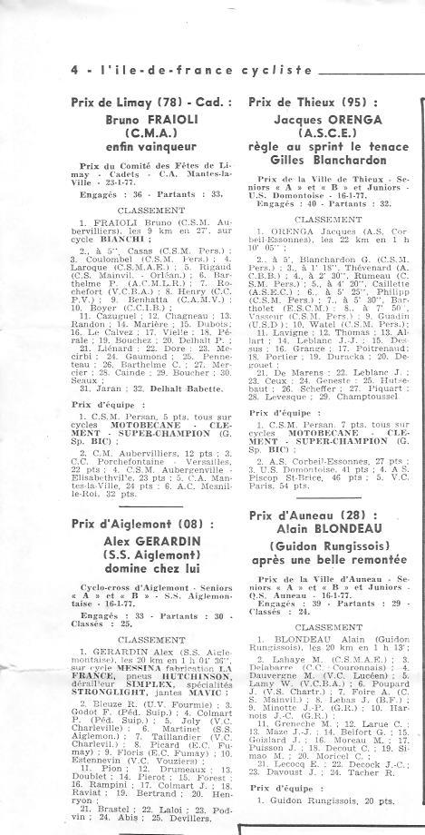 Coureurs et Clubs de juin 1974 à mars 1977 - Page 42 007149