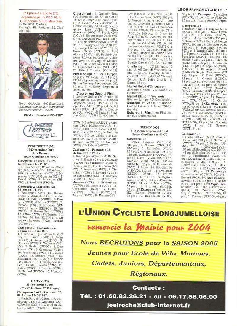 Coureurs et Clubs de septembre 2004 à fevrier 2008 - Page 2 00769