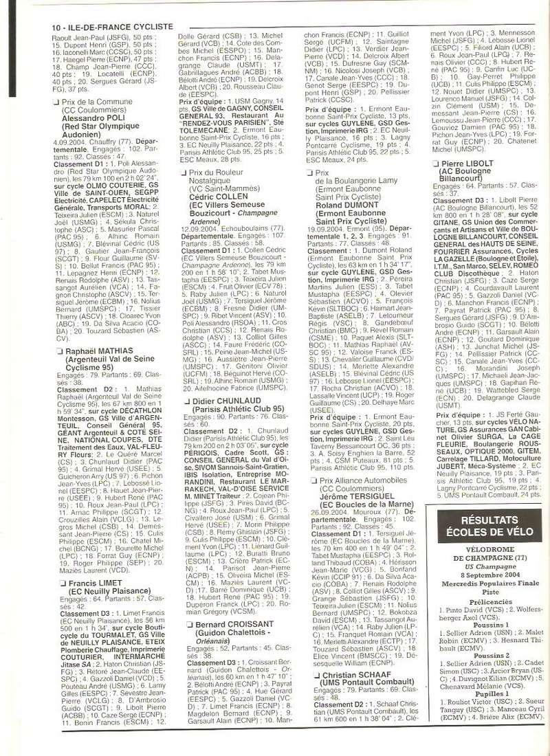 Coureurs et Clubs de septembre 2004 à fevrier 2008 - Page 2 01068