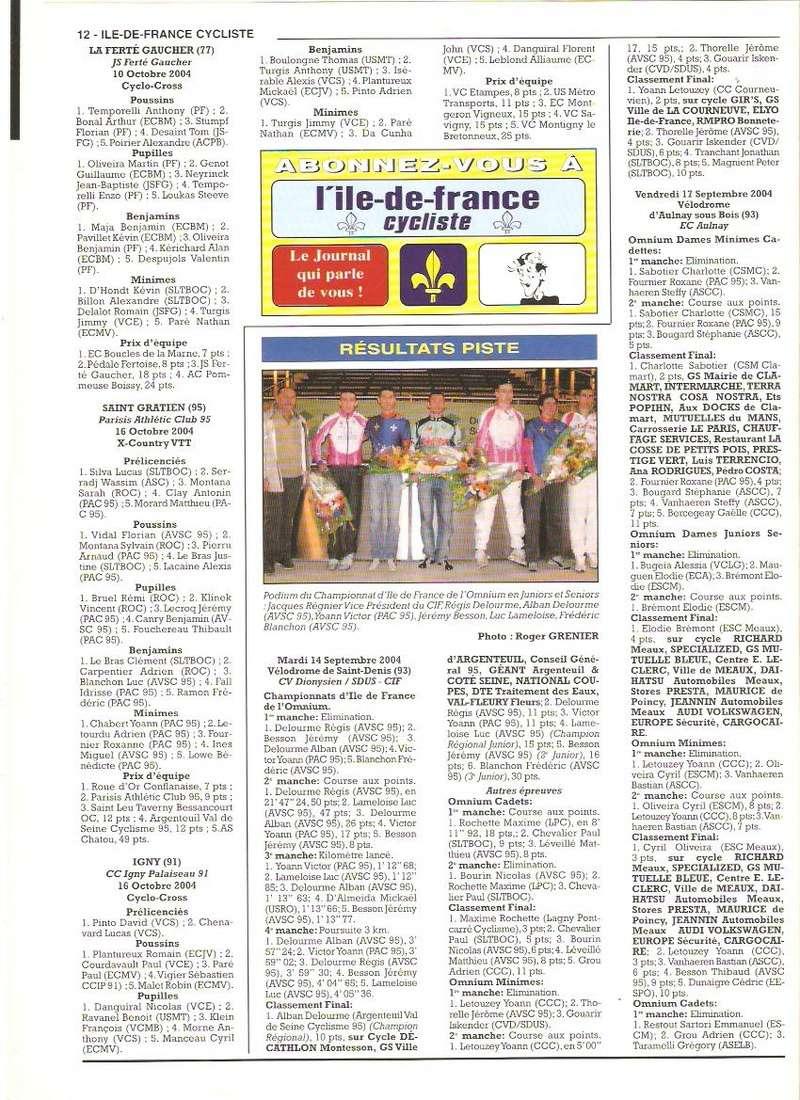 Coureurs et Clubs de septembre 2004 à fevrier 2008 - Page 2 01270