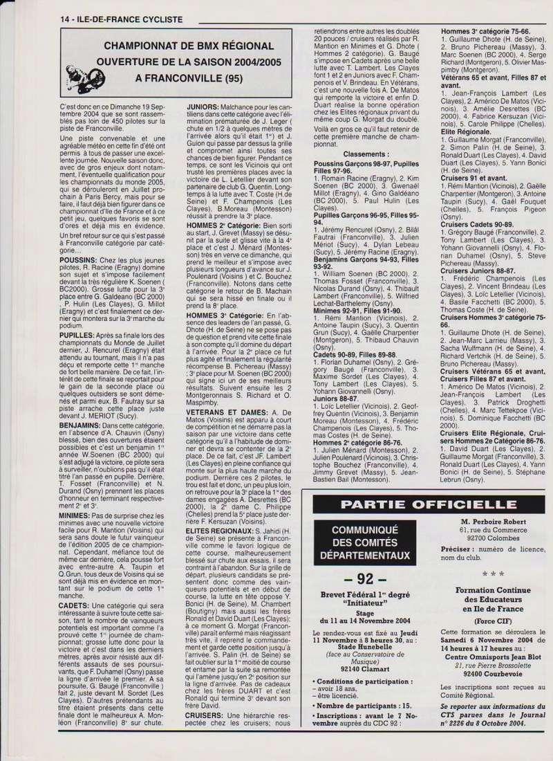Coureurs et Clubs de septembre 2004 à fevrier 2008 - Page 2 01466
