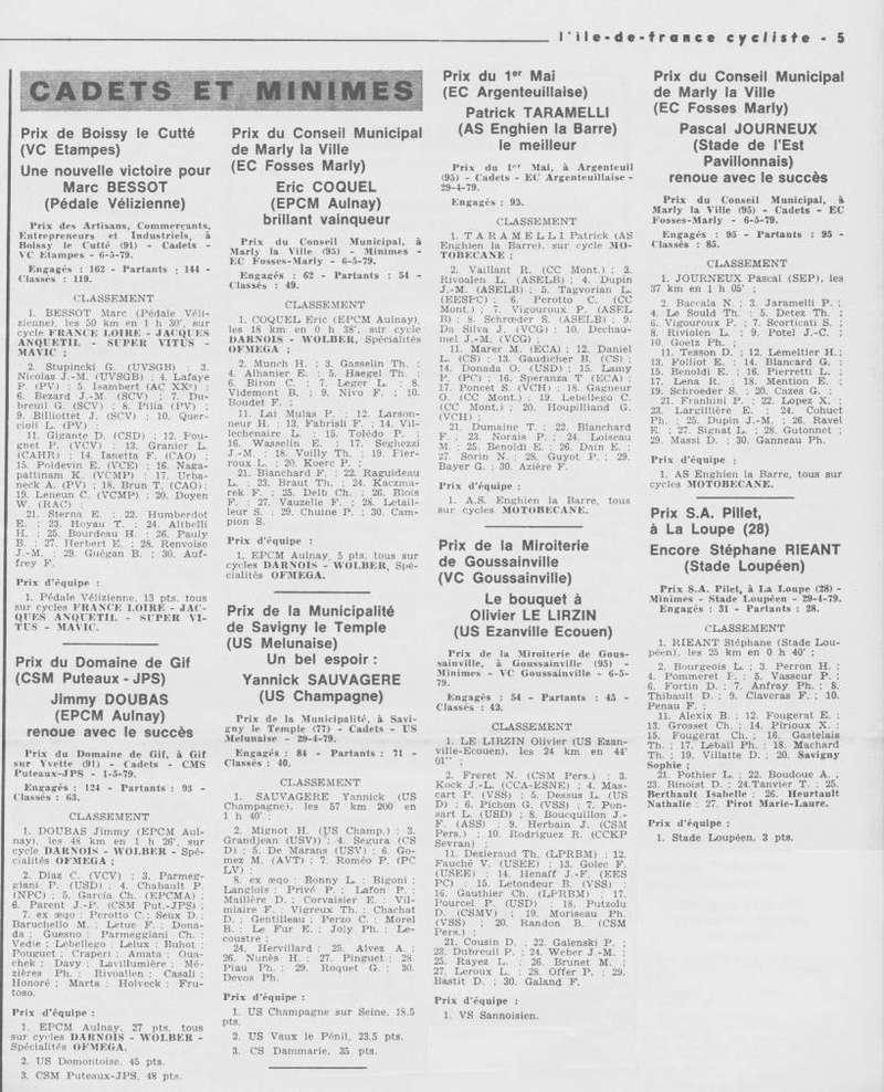 Coureurs et Clubs d'avril 1977 à mai 1979 - Page 40 018140