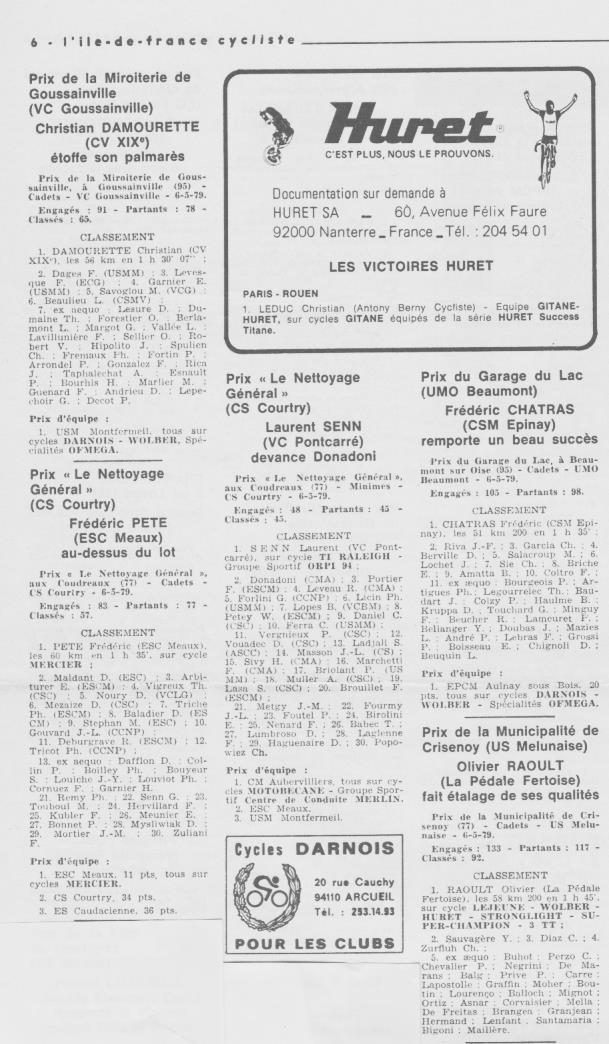 Coureurs et Clubs d'avril 1977 à mai 1979 - Page 40 020134