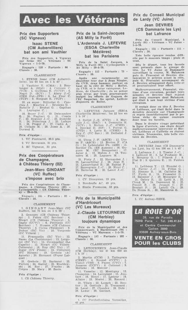 Coureurs et Clubs d'avril 1977 à mai 1979 - Page 40 023131