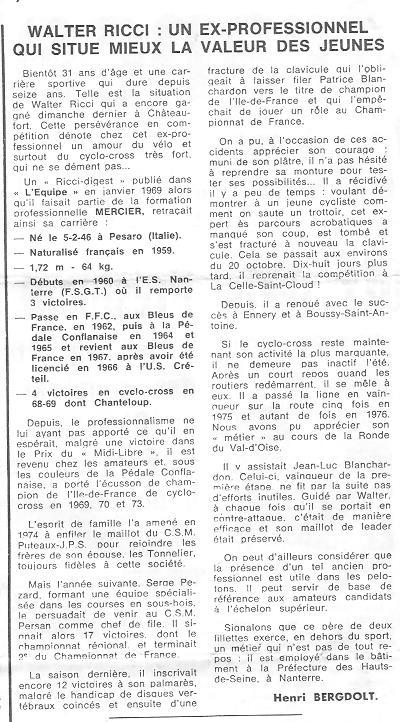 Coureurs et Clubs de juin 1974 à mars 1977 - Page 42 04917