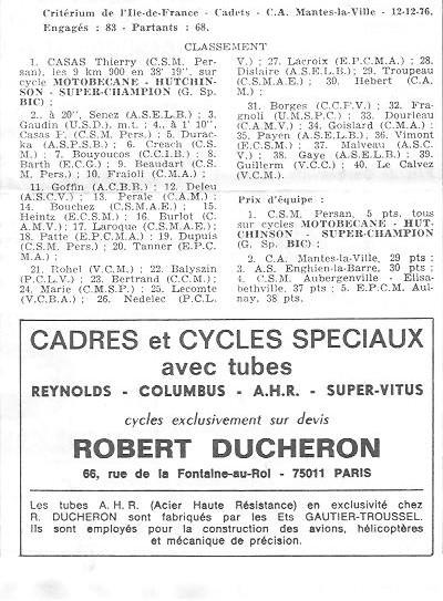 Coureurs et Clubs de juin 1974 à mars 1977 - Page 42 06112