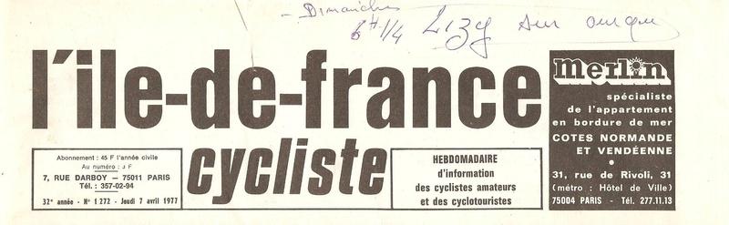 Coureurs et Clubs d'avril 1977 à mai 1979 0_00137