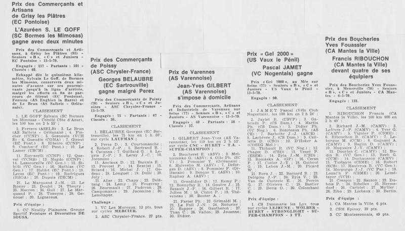 Coureurs et Clubs d'avril 1977 à mai 1979 - Page 40 112