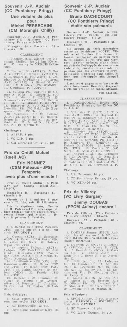 Coureurs et Clubs d'avril 1977 à mai 1979 - Page 40 1413