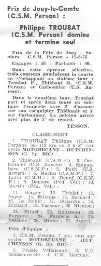 CSM.Persan.BIC. Toute une époque de juin 1974 à......... 75_00110