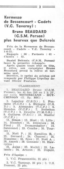 CSM.Persan.BIC. Toute une époque de juin 1974 à......... 75_00510
