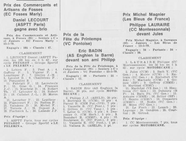 Coureurs et Clubs d'avril 1977 à mai 1979 - Page 40 811