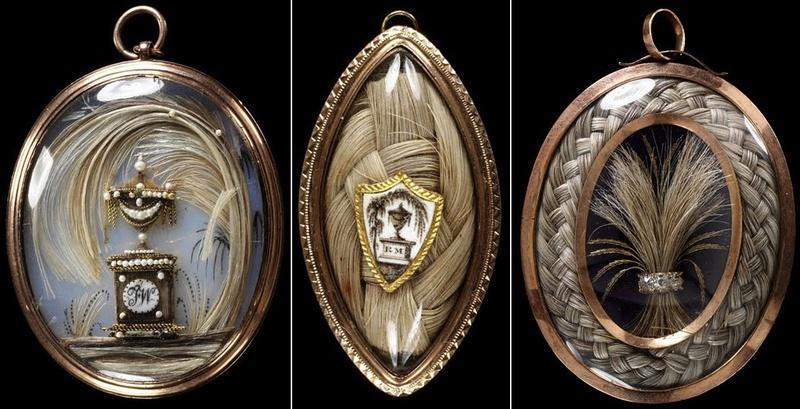 L'art des cordes de montre de poche de cheveux humains 6lespe10